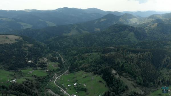 Невероятные пейзажи Карпат